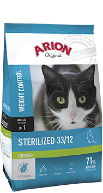 Arion original kat sterilized kip 2 kilo