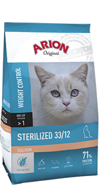 Arion original kat sterilized zalm 2 kilo