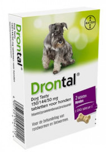 Drontal Dog Tasty 6 tabletten
